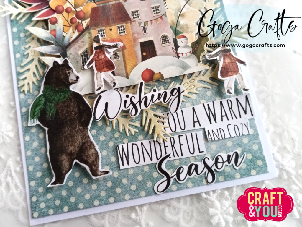 Kartka świąteczna Craft&You Design – Colors Of Christmas